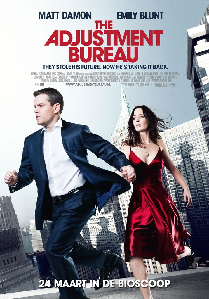 The Adjustment Bureau poster, © 2010 Universal Pictures International