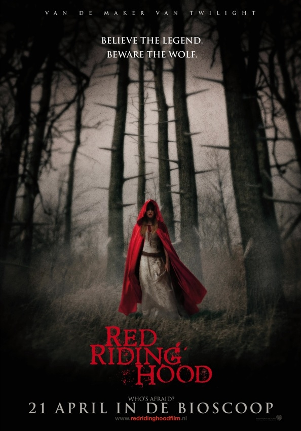 Red Riding Hood poster, © 2011 Warner Bros.