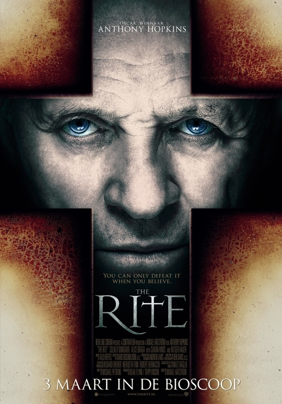 The Rite poster, © 2011 Warner Bros.