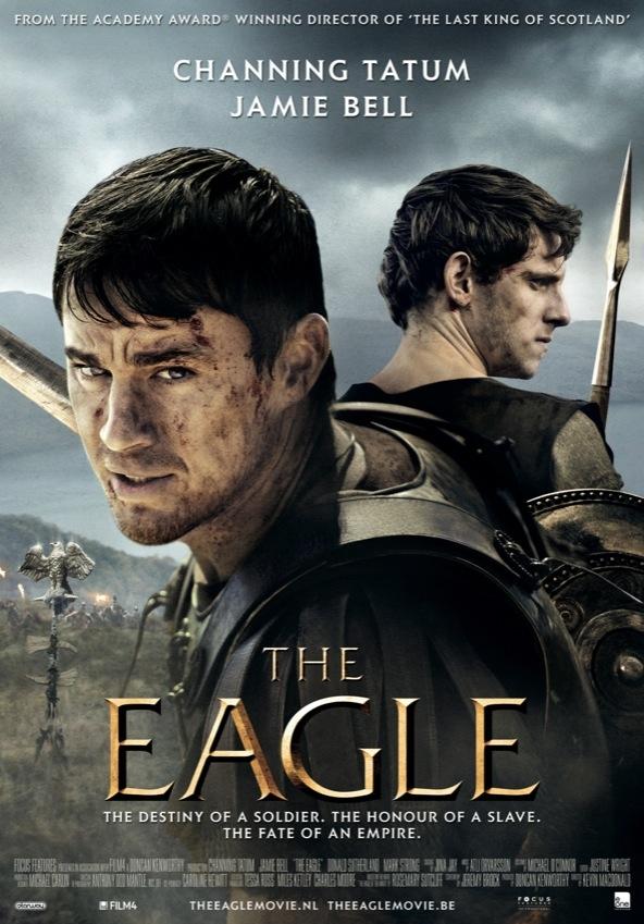 The Eagle poster, © 2011 E1 Entertainment Benelux