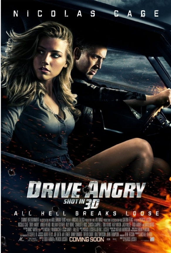 Drive Angry 3D poster, © 2011 Benelux Film Distributors