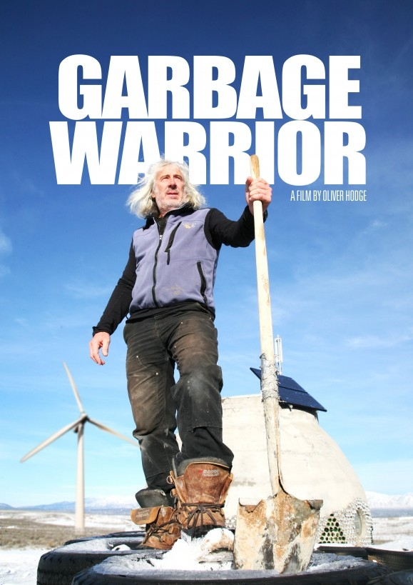Garbage Warrior poster, copyright in handen van productiestudio en/of distributeur