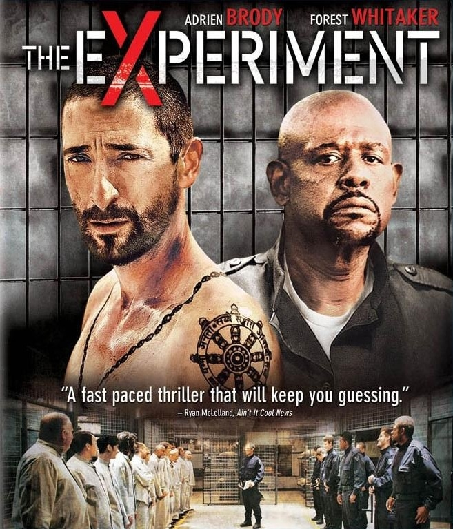 The Experiment poster, © 2010 Benelux Film Distributors