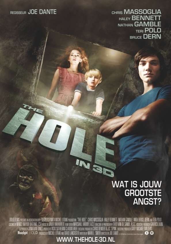 The Hole poster, © 2009 Moonlight