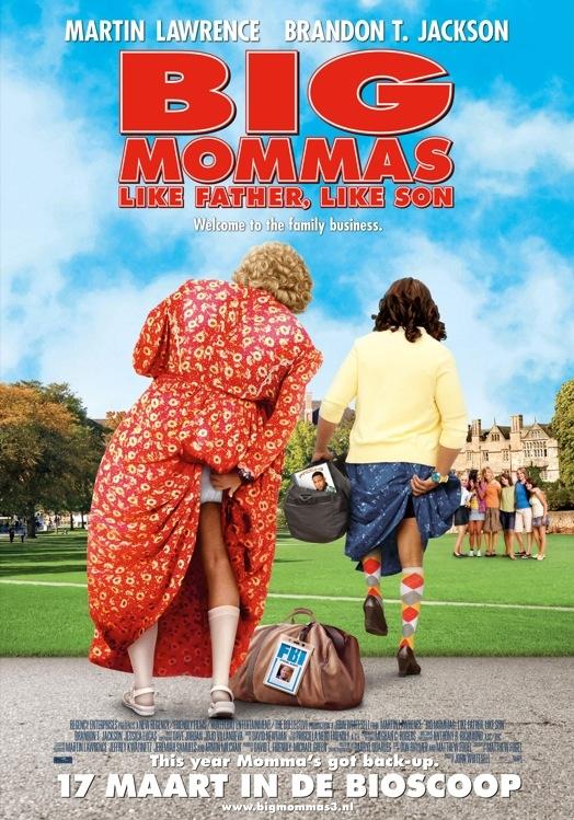 Big Mommas: Like Father, Like Son poster, © 2011 Warner Bros.