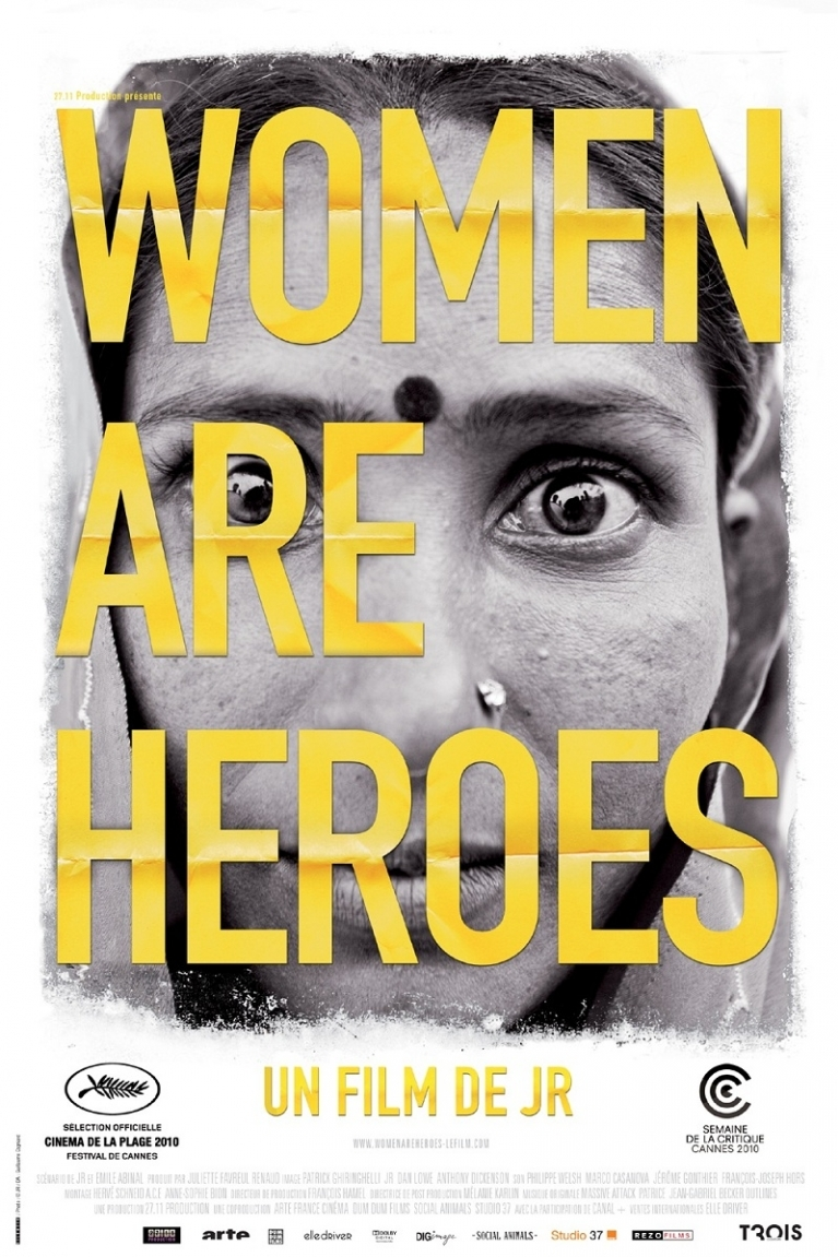 Women Are Heroes poster, © 2010 Contact Film