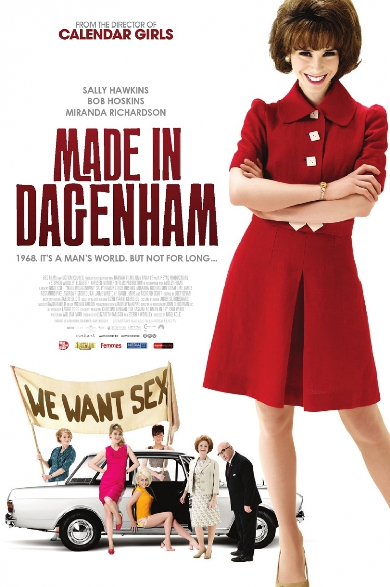 Made in Dagenham poster, © 2010 Cinéart