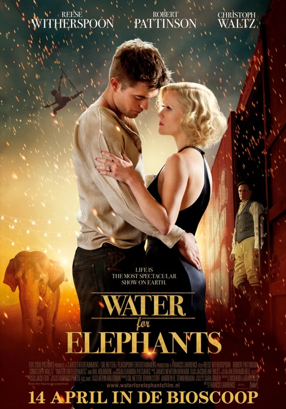 Water for Elephants poster, © 2011 20th Century Fox