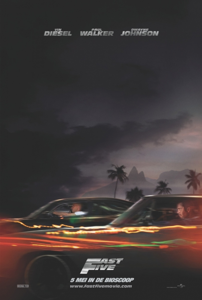 Fast Five poster, © 2011 Universal Pictures International