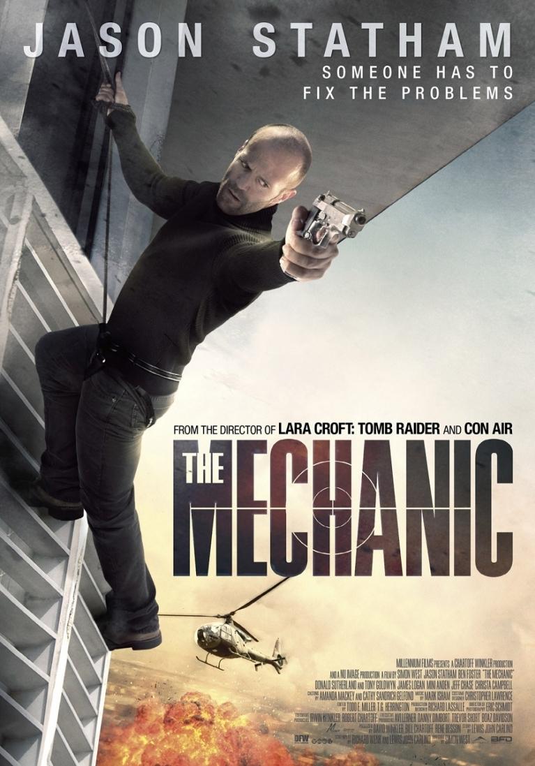 The Mechanic poster, © 2011 Benelux Film Distributors