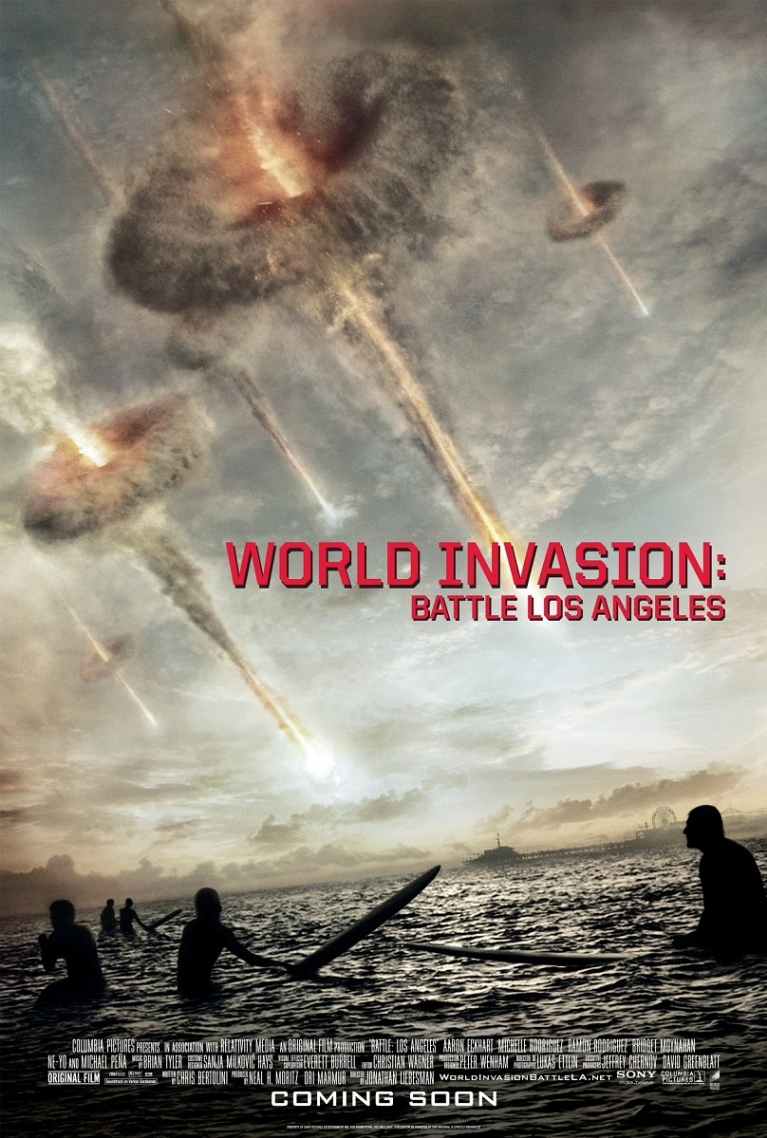 World Invasion: Battle Los Angeles poster, © 2011 Sony Pictures Releasing
