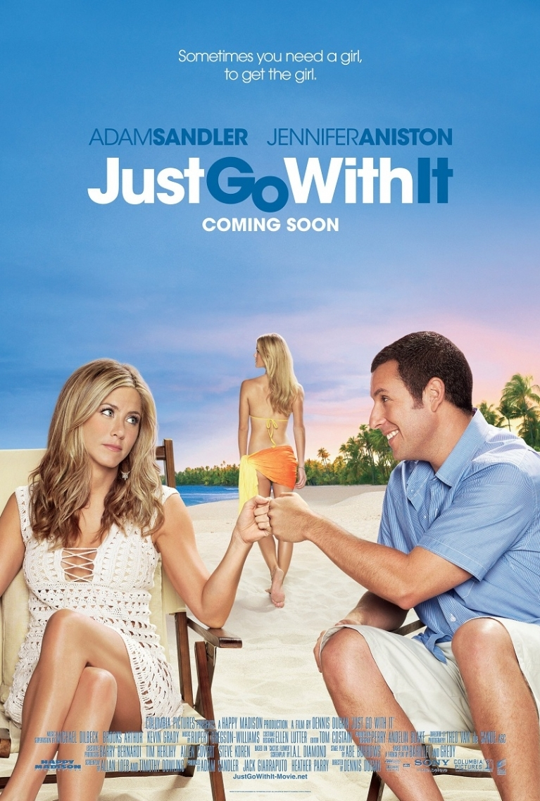 Just Go with It poster, © 2011 Sony Pictures Releasing