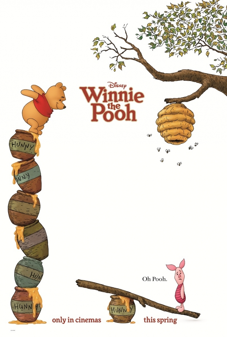 Winnie the Pooh poster, © 2011 Walt Disney Pictures