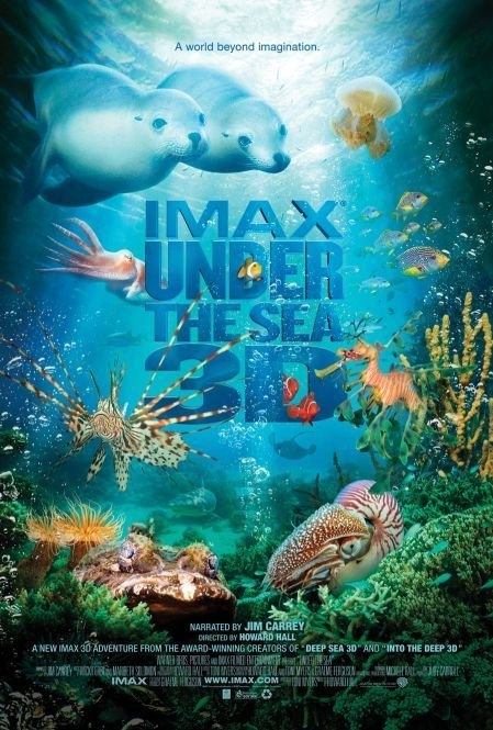 Under the Sea 3D poster, copyright in handen van productiestudio en/of distributeur