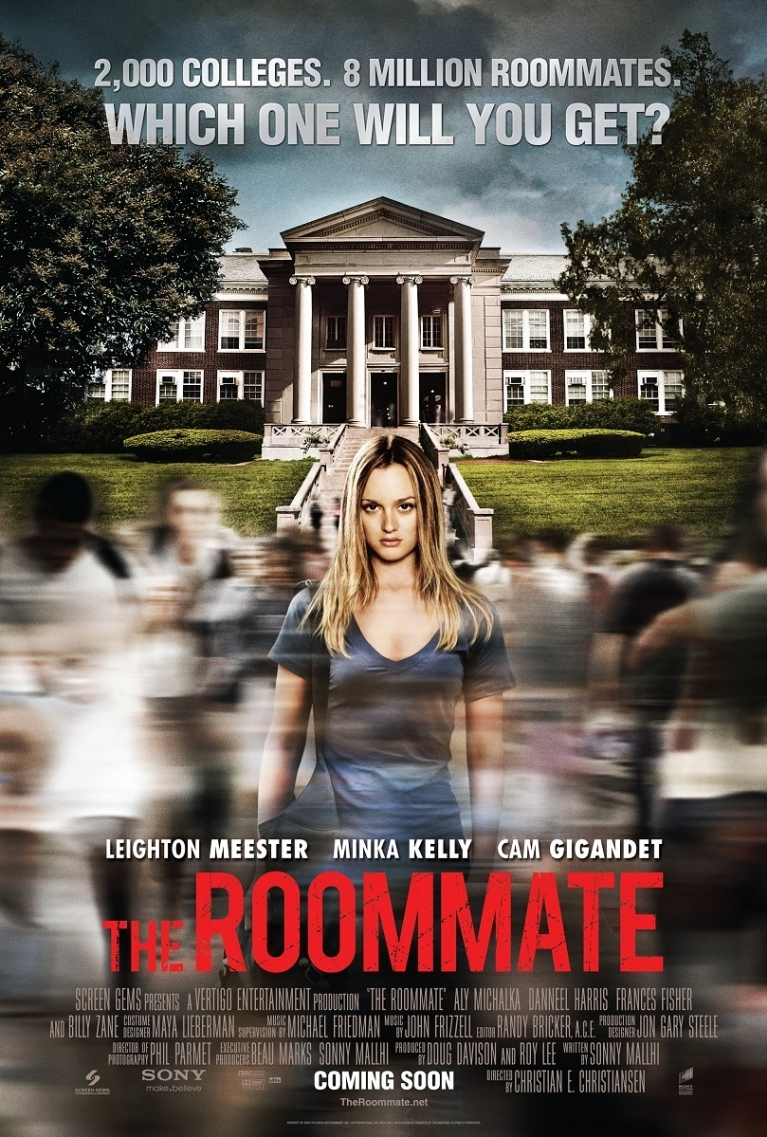The Roommate poster, © 2011 Sony Pictures Releasing