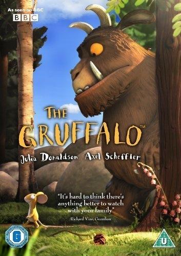 The Gruffalo poster, copyright in handen van productiestudio en/of distributeur