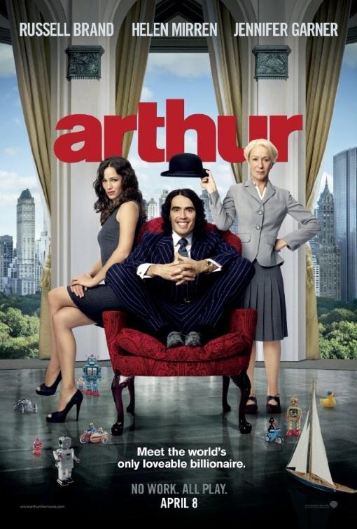 Arthur poster, © 2011 Warner Bros.