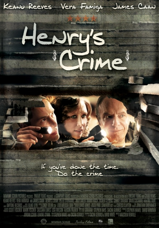 Henry's Crime poster, © 2010 E1 Entertainment Benelux