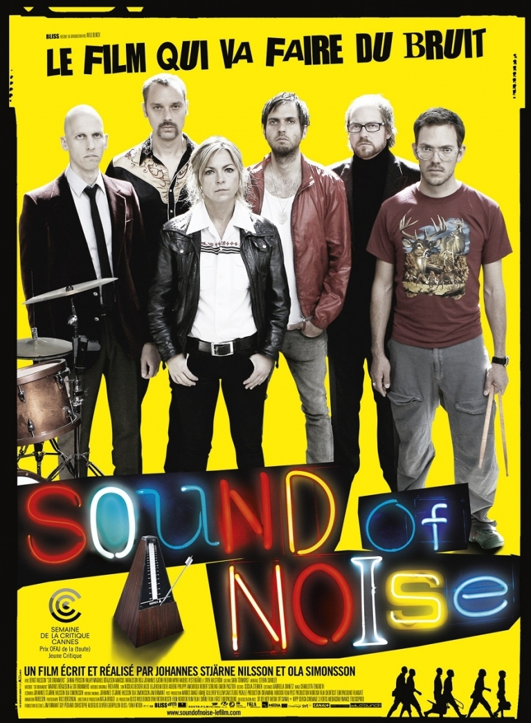 Sound of Noise poster, © 2010 Contact Film