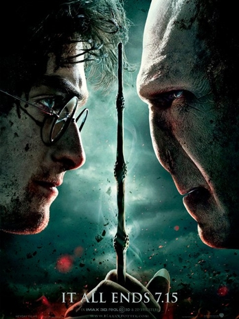 Harry Potter and the Deathly Hallows: Part 2 poster, © 2011 Warner Bros.
