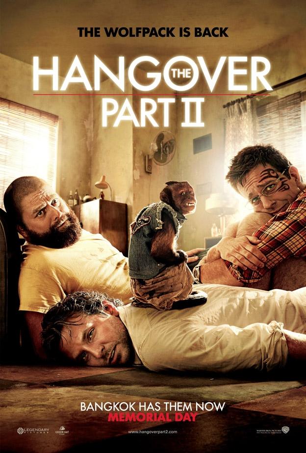 The Hangover Part II poster, © 2011 Warner Bros.