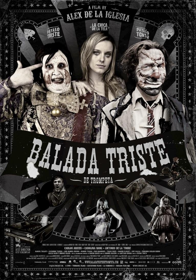 Balada triste de trompeta poster, © 2010 Cinéart