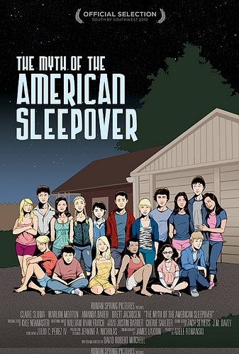 The Myth of the American Sleepover poster, © 2010 Filmfreak Distributie