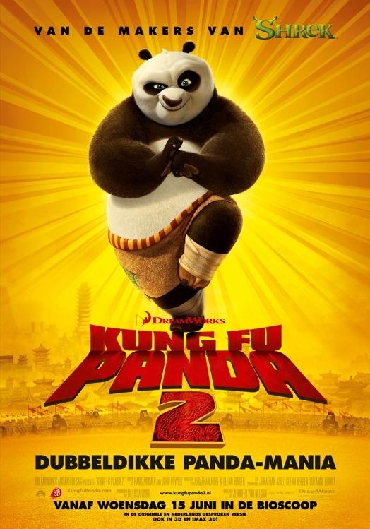 Kung Fu Panda 2 poster, © 2011 Universal Pictures International