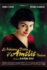Poster van 'Le Fabuleux Destin d'Amélie Poulain' © 2001 Paradiso