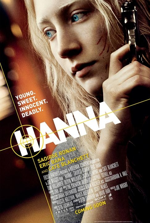 Hanna poster, © 2011 Sony Pictures Releasing