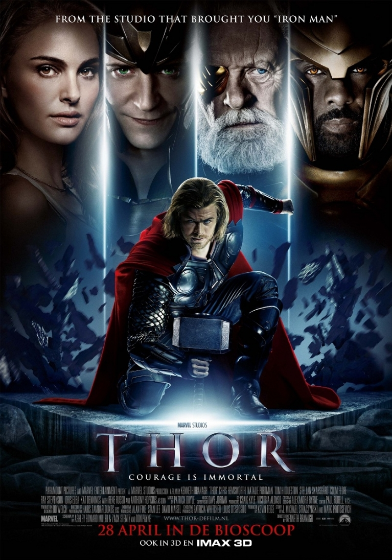 Thor poster, © 2011 Universal Pictures International
