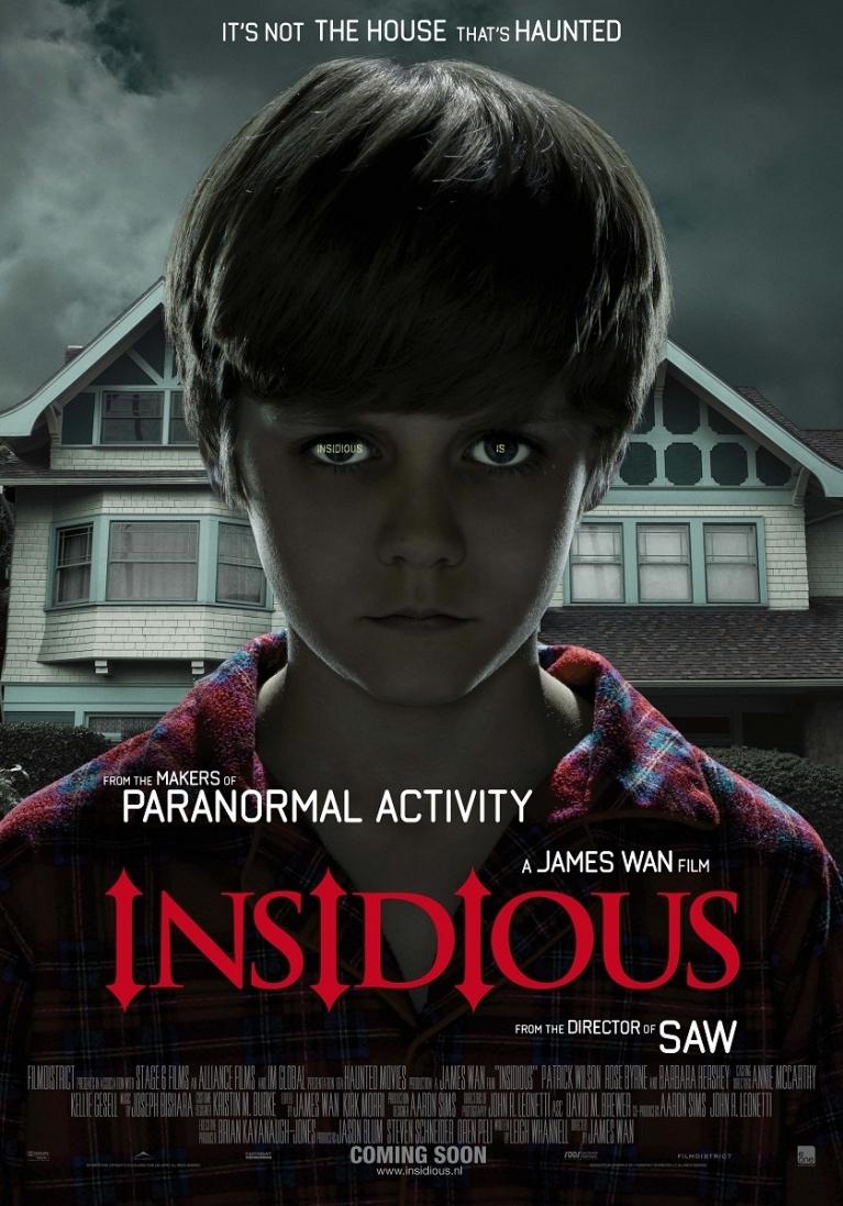 Insidious poster, © 2010 E1 Entertainment Benelux