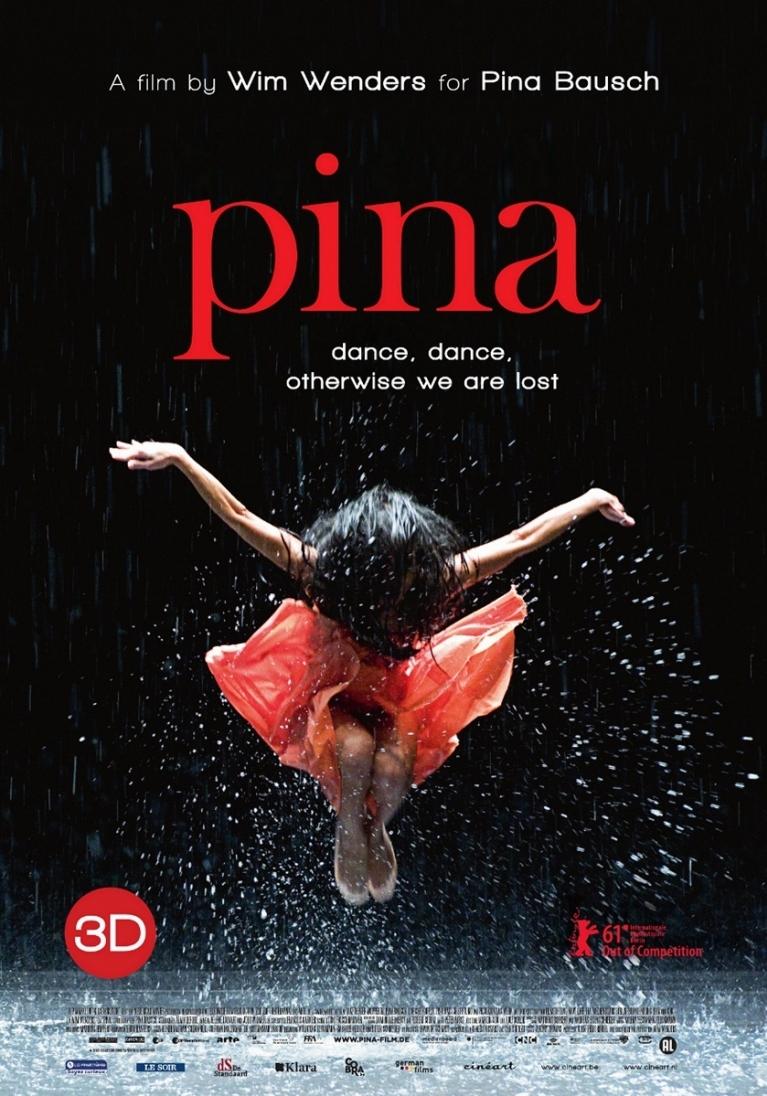 Pina poster, © 2011 Cinéart