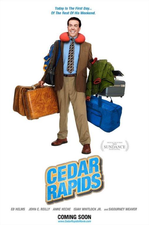 Cedar Rapids poster, © 2011 Warner Bros.