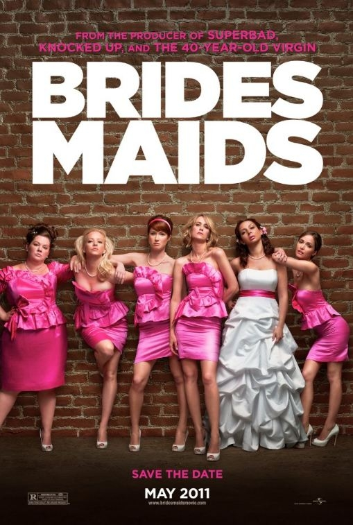 Bridesmaids poster, © 2011 Universal Pictures International