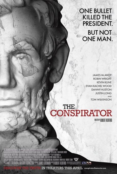 The Conspirator poster, © 2010 Benelux Film Distributors