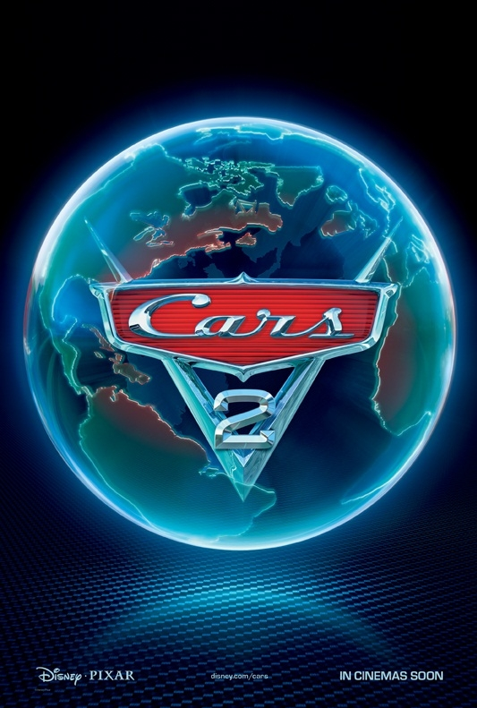 Cars 2 poster, © 2011 Walt Disney Pictures