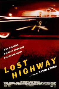 poster 'Lost Highway' © 1996 RCV Filmdistribution