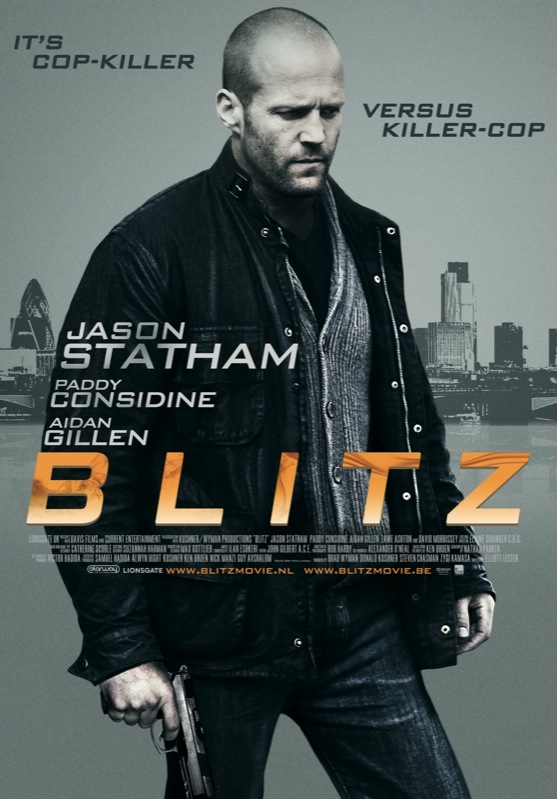 Blitz poster, © 2011 E1 Entertainment Benelux