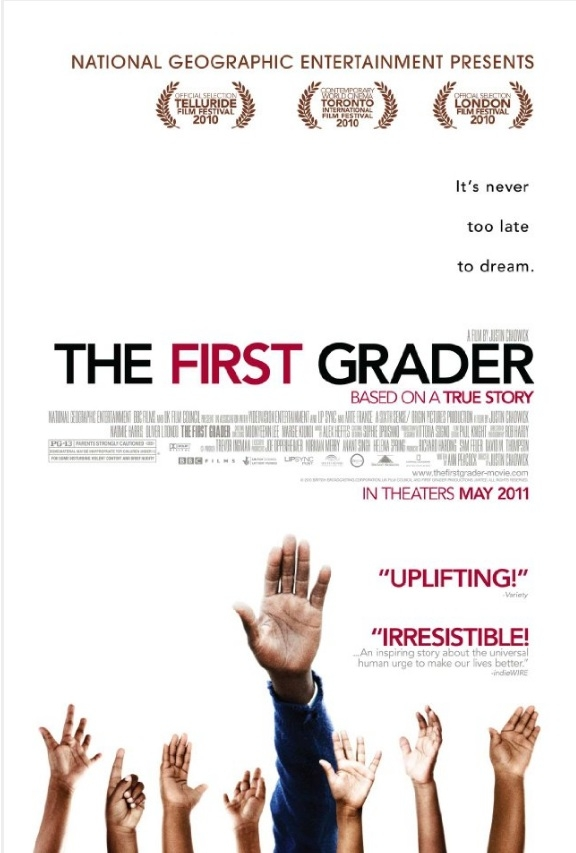 The First Grader poster, © 2010 A-Film Quality Film