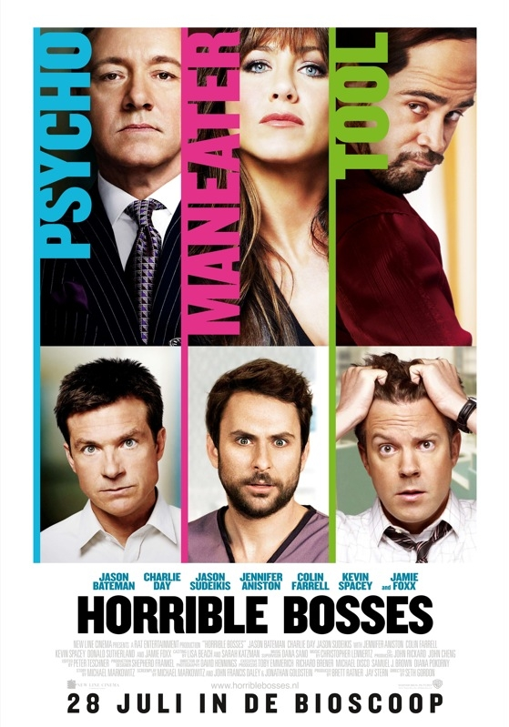 Horrible Bosses poster, © 2011 Warner Bros.