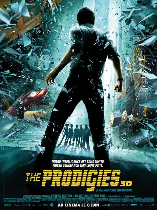 The Prodigies poster, copyright in handen van productiestudio en/of distributeur