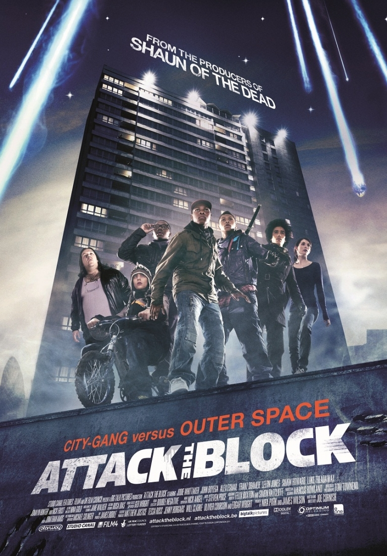 Attack the Block poster, © 2011 E1 Entertainment Benelux
