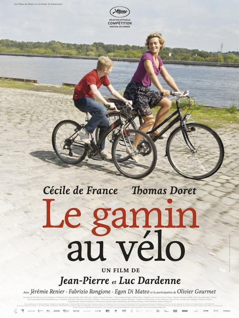 Le gamin au vélo poster, © 2011 Cinéart