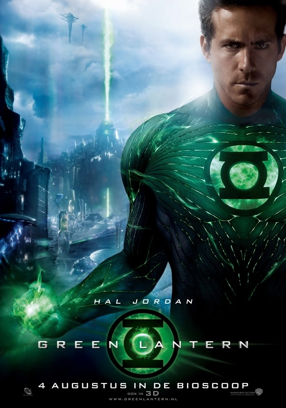 Green Lantern poster, © 2011 Warner Bros.