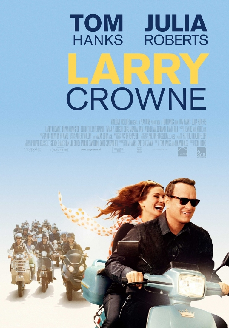Larry Crowne poster, © 2011 E1 Entertainment Benelux