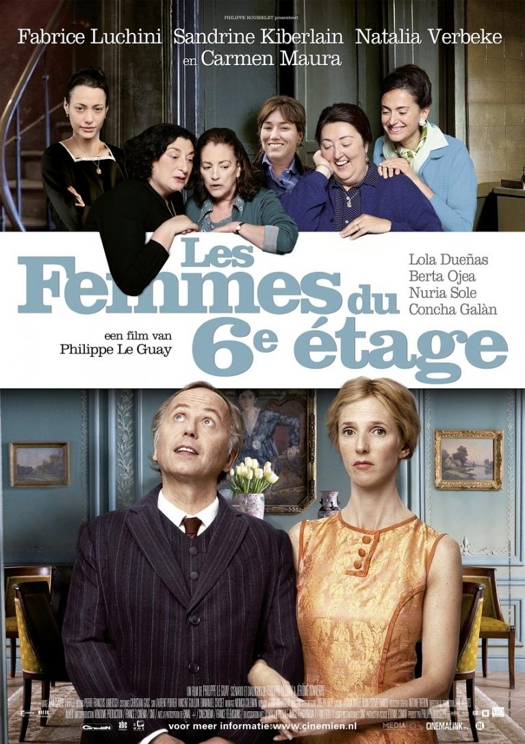 Les femmes du 6ème étage poster, © 2011 Cinemien