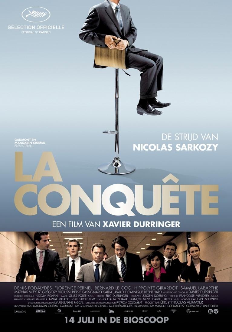 La Conquête poster, © 2011 Benelux Film Distributors