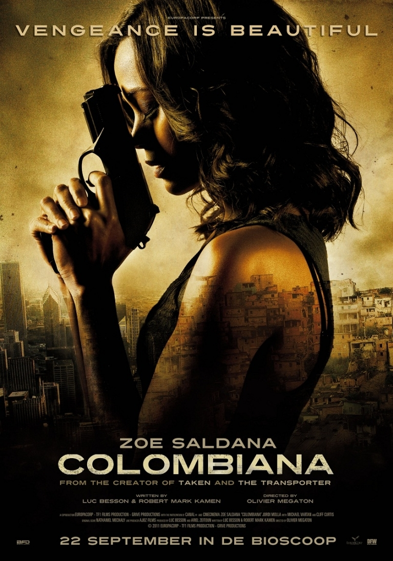 Colombiana poster, © 2011 Benelux Film Distributors