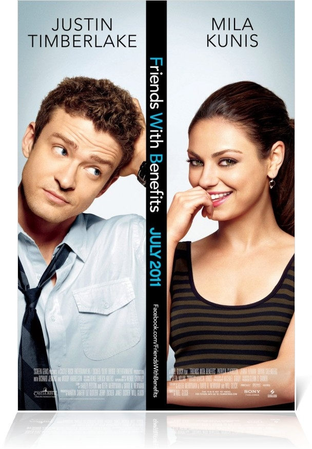 Friends with Benefits poster, © 2011 Sony Pictures Classics